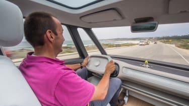 Volkswagen I.D. Buzz concept review - driving