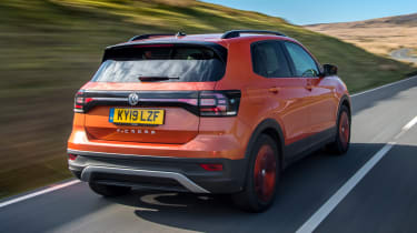 VW T-Cross - rear action