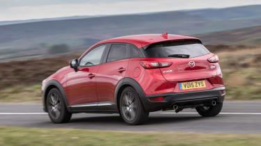 Mazda CX-3 - rear action