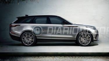 Range Rover Velar - leaked side