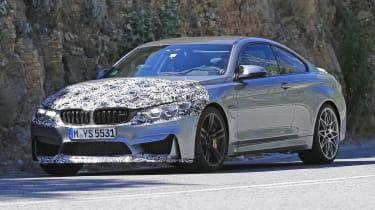 BMW M4 2017 spy shot 4