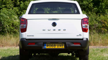 SsangYong Musso EX - full rear
