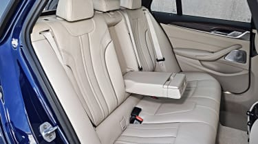 New BMW 5 Series Touring - rear seats