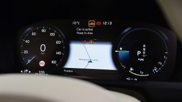 Volvo XC90 - dials