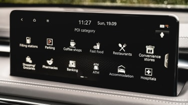 Genesis G70 - screen