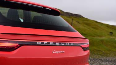 Porsche Cayenne Coupe - brake light