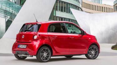 Smart ForTwo and ForFour Brabus rear static