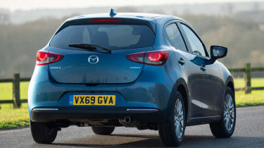 Mazda 2 - rear cornering