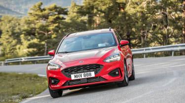 Ford Focus Estate - front cornering