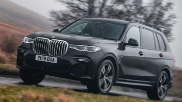BMW X7 - front action