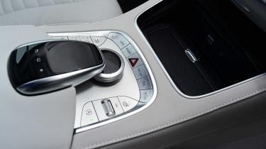 Mercedes S-Class - centre console