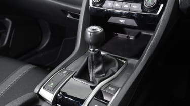 Honda Civic long-term review - Civic gear lever
