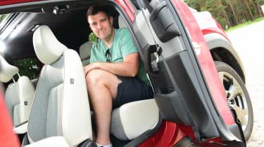 Mazda MX-30 long termer - first report rear seats