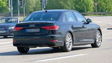 Audi A4 facelift - rear