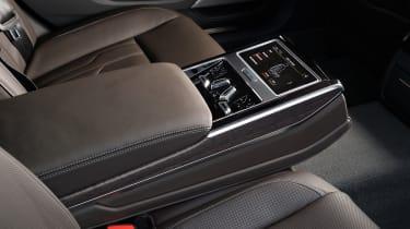 Audi A8 - screen