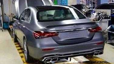 Mercedes-AMG E 63 S - rear leaked