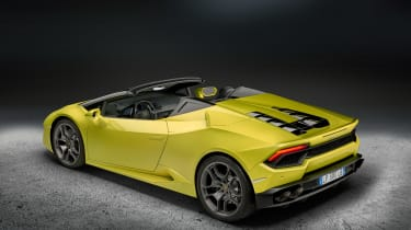 Lamborghini Huracan rear-wheel drive Spyder 2