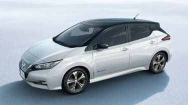 New Nissan Leaf - above studio
