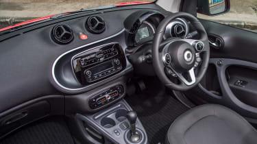 Smart ForTwo Cabrio - dash