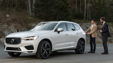 Volvo XC60 2017 - white header