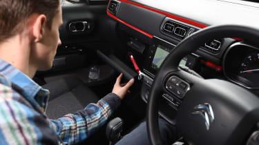 Citroen C3 long term test first report - glovebox