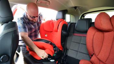 Citroen C5 Aircross long termer second report - child seat