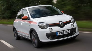Used Renault Twingo - front tracking