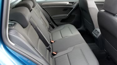 Volkswagen Golf Estate - rear seats
