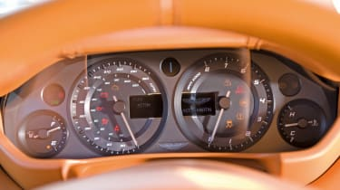 Aston Martin One-77 dials
