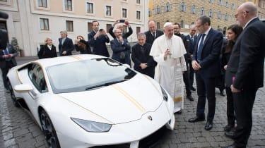Pope Francis Lamborghini Huracan