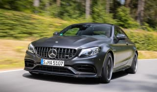 Mercedes-AMG C 63 S Coupe - front action