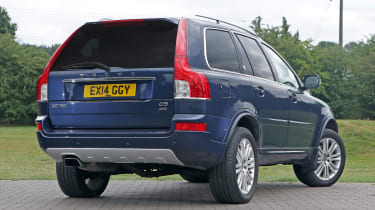 Used Volvo XC90 - rear