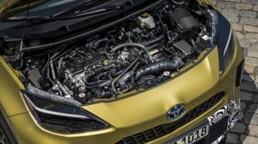 Toyota Yaris Cross prototype - engine