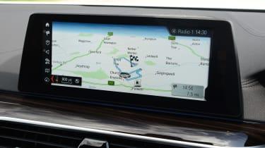 BMW 530e - sat-nav
