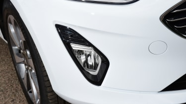 Ford Fiesta - fog light