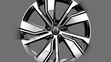 Volvo XC40 EV teaser - wheel