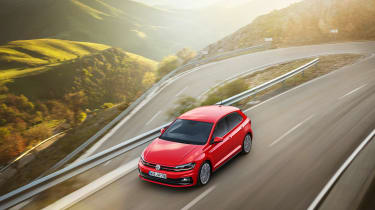 New Volkswagen Polo GTI - front panning