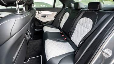 Mercedes C-Class - back seats