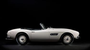 Elvis Presley BMW 507 - right side profile