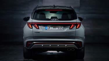 Hyundai Tuscon N Line - full rear
