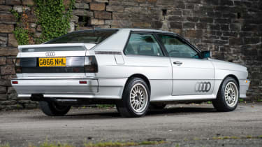 Cool cars: the top 10 coolest cars - Audi Quattro rear