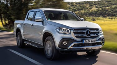 Mercedes X-Class - front action