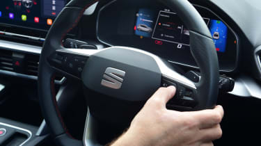 SEAT Leon e-Hybrid long termer - first report steering wheel controls