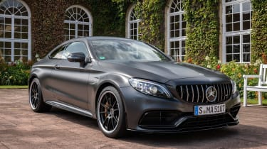 Mercedes-AMG C 63 S Coupe - front static