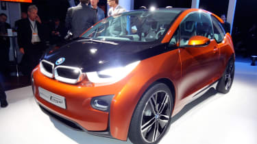BMW i3 Coupe front
