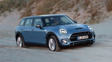 MINI Clubman ALL4 2016 - off road front tracking