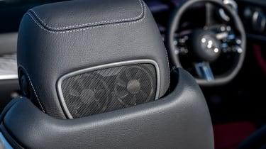 Mercedes E 300 Cabriolet - seat fan