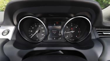Range Rover Evoque Convertible - dials