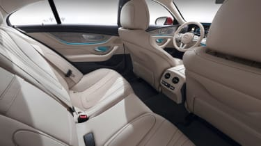 Mercedes CLS - back seats