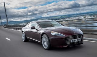 Aston Martin Rapide S 2014 action